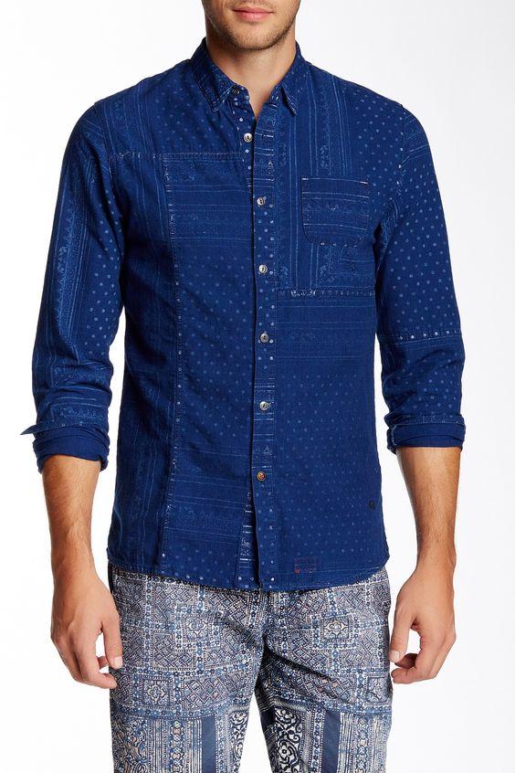 Long Sleeve Woven Shirt by Scotch & Soda on @HauteLook