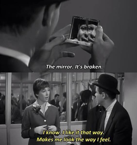 The mirror the obscure object of desire movie quotes for The apartment cast