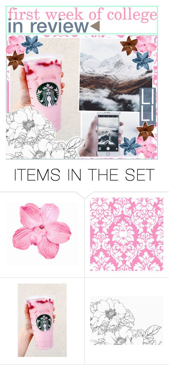 """""""first week of college in review"""" by world-tips ❤ liked on Polyvore featuring art and bathroom"""