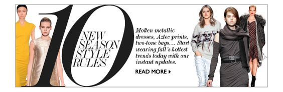 Net a porter gets it right every time!