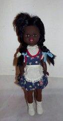 Německá panenka NDR 70.léta černoška č.1