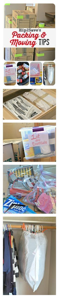 These wonderful packing tips and moving tips will make your life so much easier. You're going to love some of the ideas when you see how simple they are and how much time they are going to save you.