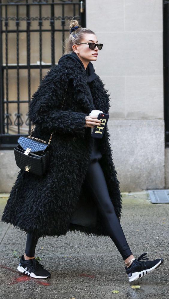 November 16: Hailey Baldwin Bieber leaving A. Joshua Zimm MD PC Facial Plastic Surgery Office in New York.