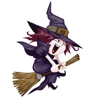 cute halloween witch painting cute cartoon halloween witches clip art images - Cute Halloween Witches