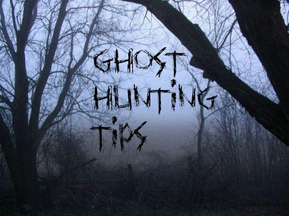 Seeks Ghosts: Ghost Hunting Tips