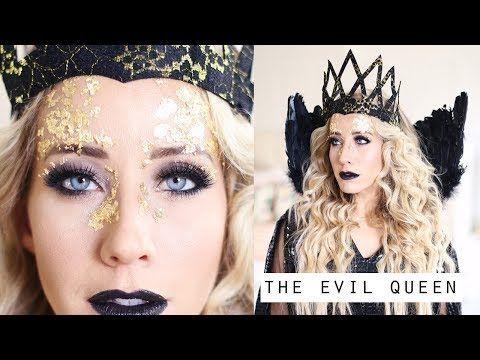 Evil Queen Makeup Hair Tutorial Queen Ravenna Twist Me Pretty Youtube Evil Queen Makeup Queen Makeup Queen Ravenna