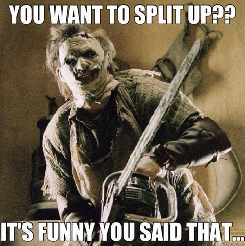 warming up for tonight meme valentines day - leatherface memes