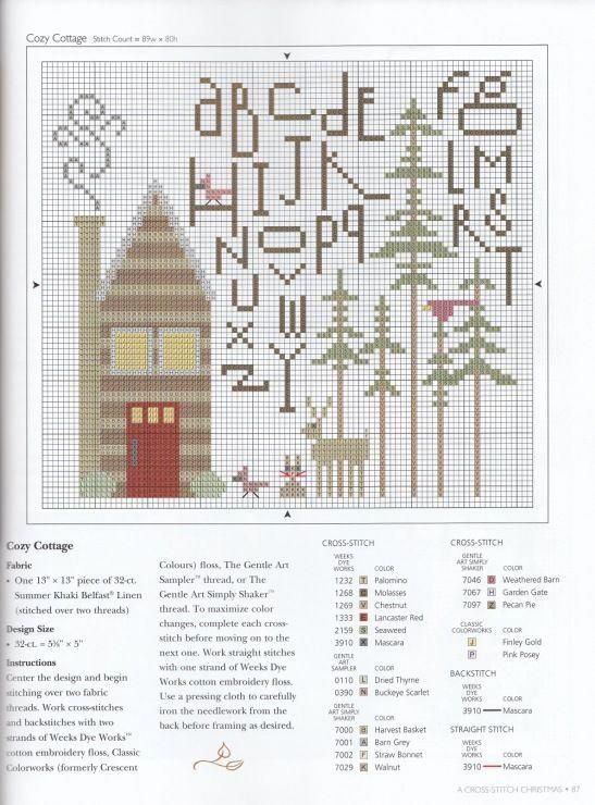 Simple Threads Summer House Stitche Workes Cross Stitch Pattern