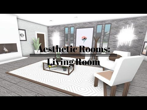 Roblox Welcome To Bloxburg Aesthetic Rooms Living Room