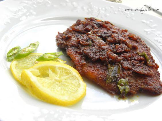 ! Vazhayila.com: Meen Pollichathu - Kuttanadan style with Tilapia
