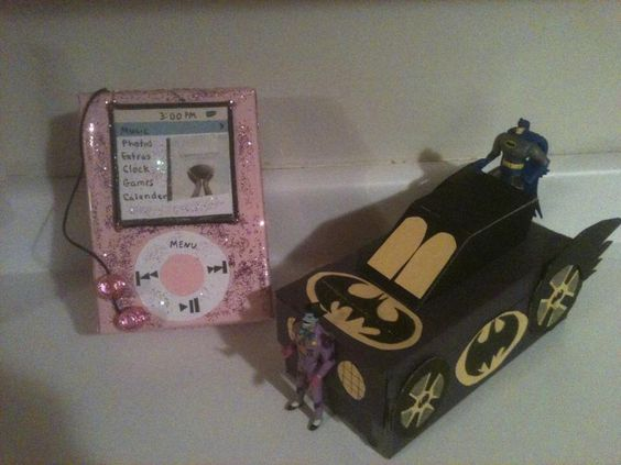 iPod, batman valentine boxes