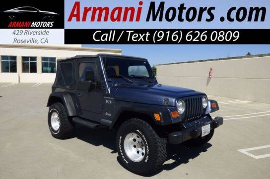 Sport Utility 2002 Jeep Wrangler 4wd X With 2 Door In Roseville