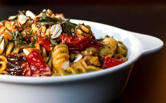 Roasted Tomato Basil Pesto Pasta