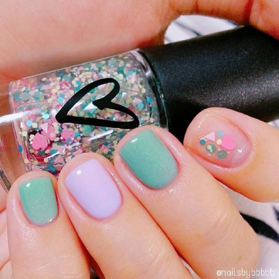 Nail Art Nail Design Korean Fashion Pastel Nail