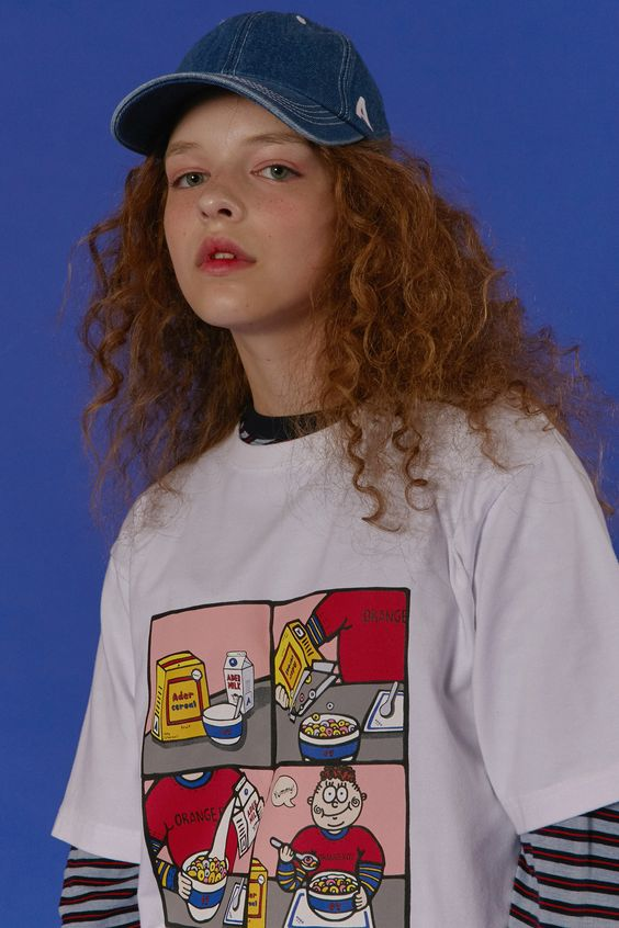 ADER Cereal boy character styling www.adererror.com #ader#adererror#fashion#minimal#simple#contemporary#colorful#basic#styling