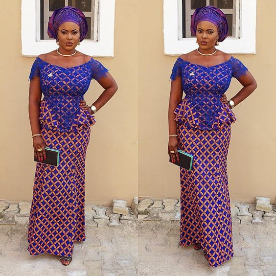 Check Out This Lovely Ankara Skirt and Blouse Style  http://www.dezangozone.com/2016/08/check-out-this-lovely-ankara-skirt-and.html