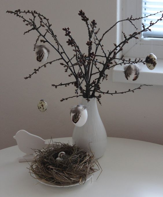 easter nature decoration