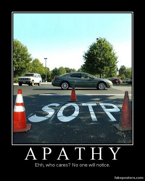 Apathy Quotes: Poster On Pinterest