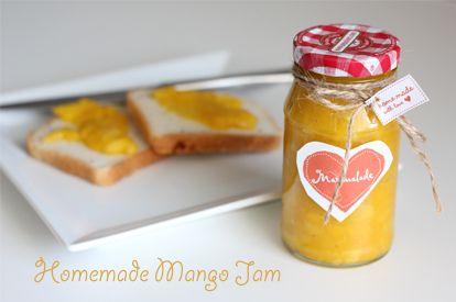 How to make your own homemade mango jam. It's sooo yummy.     http://www.babble.com/latina/diy-homemade-mango-jam/#voila-your-own-homemade-mango-jam