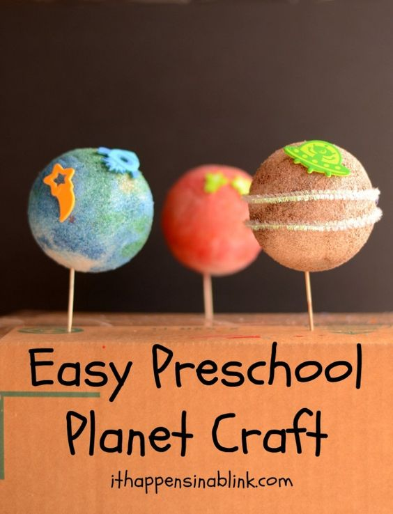 easy solar system craft - photo #16