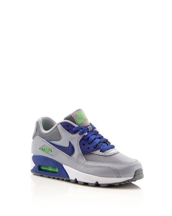Nike Air Max 90 Styles De Dentelle Pour Les Enfants