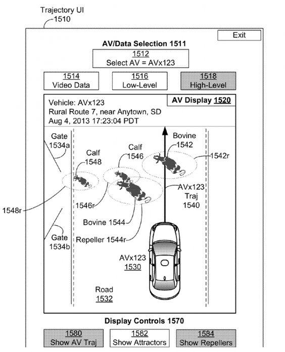 Cow Avoiding Patent