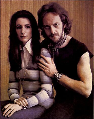 Ian Anderson with cool, Wife Shona Learoyd