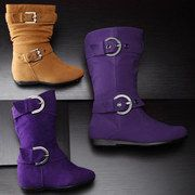 Save Up To 40% Off on the Buckle Up: Girls' Boots event on #zulily today!