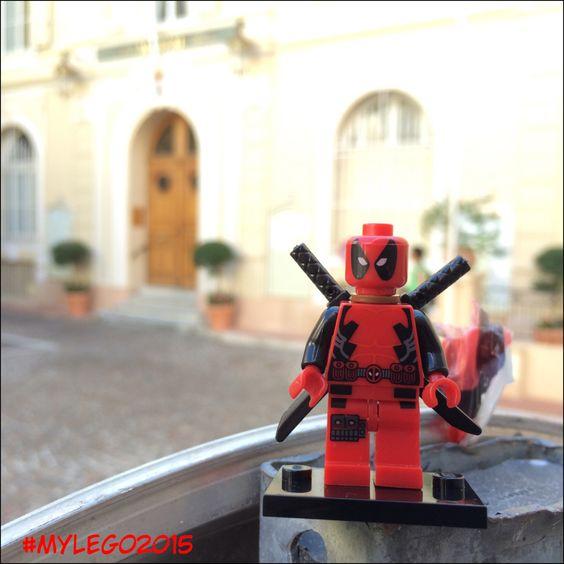 Octobre - Deadpool @ Mairie de Monaco
