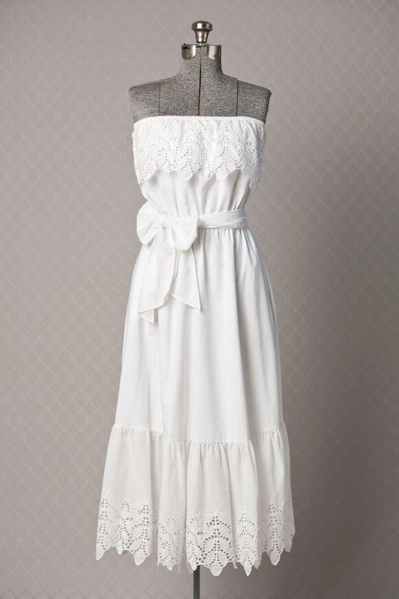 Womens 1970s White BOHO Vitnage Maxi Dress //  by vintagesalvation, $75.00: Sands, Maxi Dresses, 1970S White, Womens 1970S, Style, Vintage Fashion Photography, Boho, Vintagesalvation 75, Gypsy
