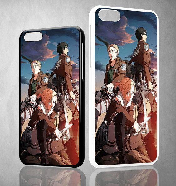 SNK Annie Reiner Bertholdt Y1351 iPhone 4S 5S 5C 6 6Plus, iPod 4 5, LG G2 G3 Nexus 4 5, Sony Z2 Case