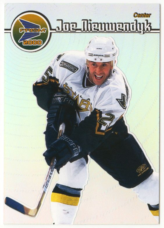 Joe Nieuwendyk # 47 - 1999-00 Pacific Prism Hockey
