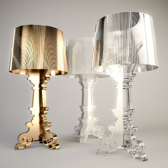 kartell bourgie table lamp pd lighting pinterest. Black Bedroom Furniture Sets. Home Design Ideas
