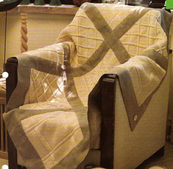 [Tricot] Le plaid en patchwork - La Boutique du Tricot et des Loisirs Créatifs
