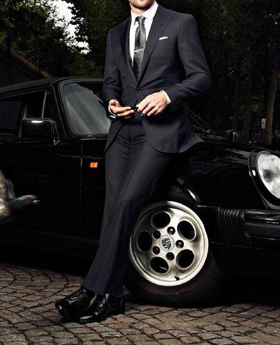 Estilo clásico y formal pero con clase.  www.silviafoz.com
