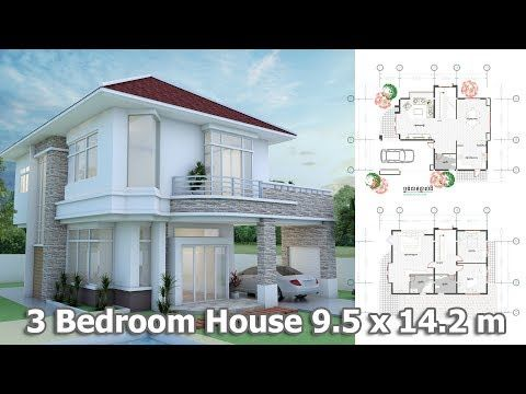 Home Design Plan 6x13m With 5 Bedrooms House Idea In 2020 Modern House Plans House Plans Mansion House Plans