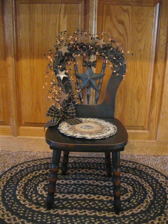 Doll Chair.. | *Primitives* | Pinterest