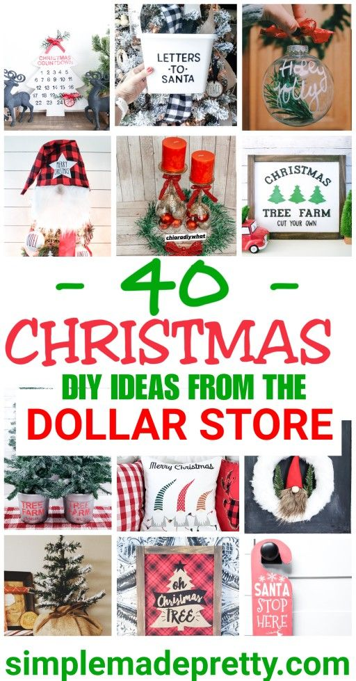 Do It Yourself Dollar Store Holiday Decor Ideas Dollar Store Christmas Diy Dollar Tree Christmas Dollar Store Christmas Decorations