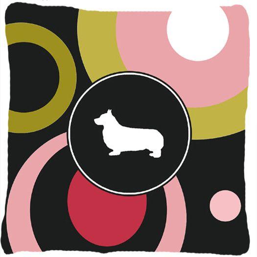 Corgi Decorative Canvas Fabric Pillow