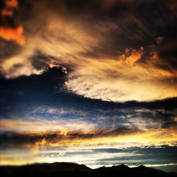 Sunset in Breckenridge tonight.