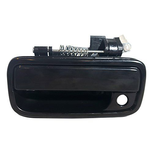 Make Auto Parts Manufacturing Front Driver Side Smooth Black With Keyhole Exterior Door Handle Plastic For Toy Exterior Door Handles Door Handles Toyota Tacoma