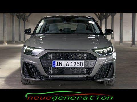 Der Brandneue 2019 Audi A1 In Chronos Grau Python Gelb Audi A1