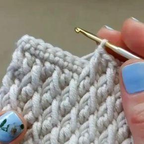 Amazing Crochet Stitch Double Crochet Front Post Double Crochet Spike Super Easy To Follow Crochet Instructions Crochet Stitches Crochet Stitches Patterns