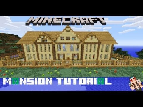 Minecraft Mansion Tutorial   its turns out really cool    Minecraft    Pinterest   Mansions  Minecraft and Watches. Minecraft Mansion Tutorial   its turns out really cool