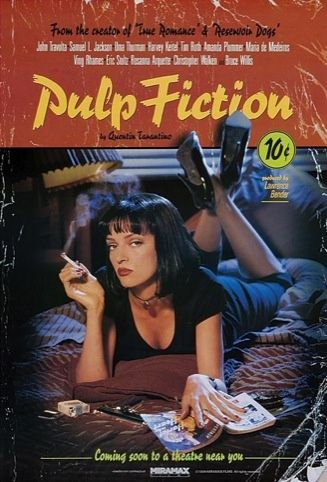 Final poster for Pulp Fiction