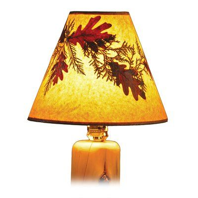 "Fireside Lodge Hickory 21"" Empire Lamp Shade"