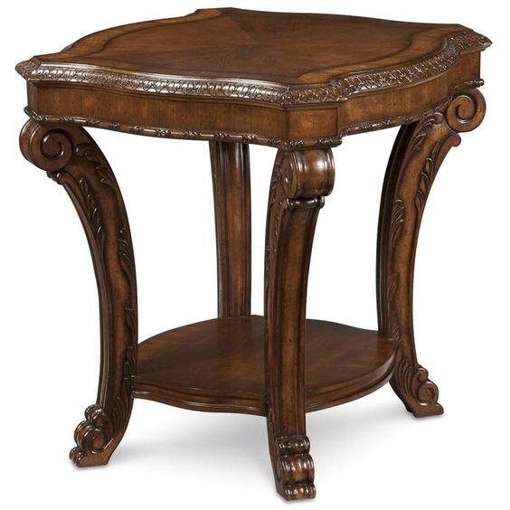 ART Furniture Old World Rectangular End Table 143304-2606