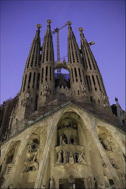 Sagrada Família ~ The Passion Façade, Barcelona , Spain