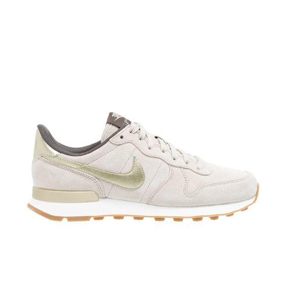Nike Sneaker Beige Gold