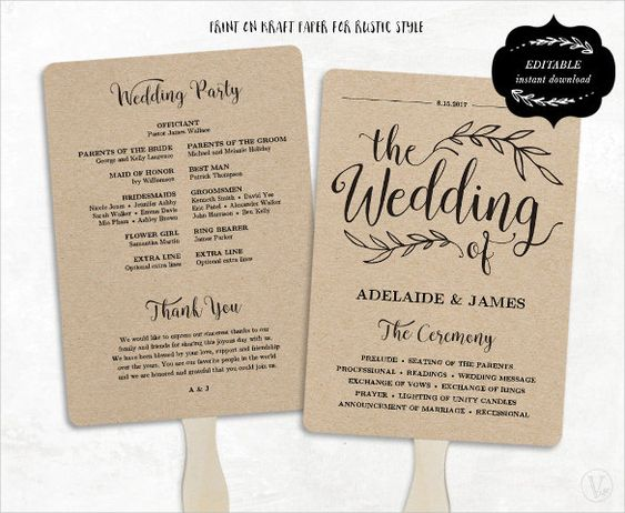 Wedding Program Template - 41+ Free Word, PDF, PSD Documents - download free wedding invitation templates for word